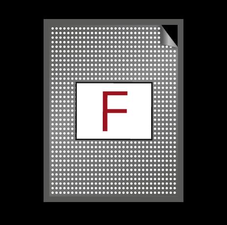 Fensterlochfolie – ohne KFZ-Zulassung